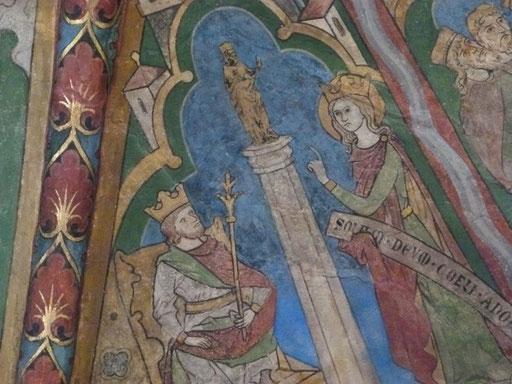 Katharina von Alexandrien Sankt Maria in Lyskirchen Fresken Romanik Benjamin Marx