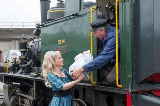 Inge und der Lokomotivführer