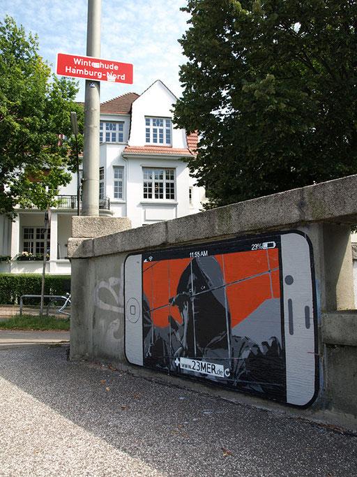 Hamburg/Marie-Louisen-Straße Ecke Leinpfad