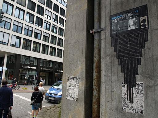 Hamburg - Willy-Brandt-Straße Ecke Kleiner Burstah