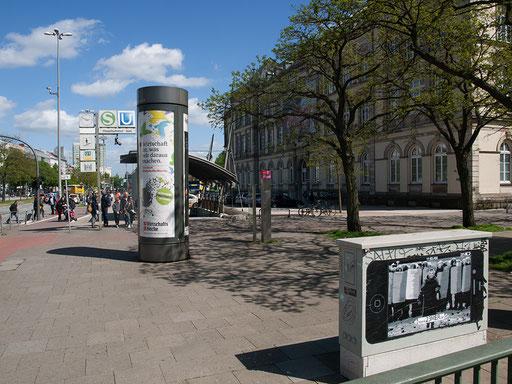 Hamburg - Adenaueralle (ggü. Steintorplatz)