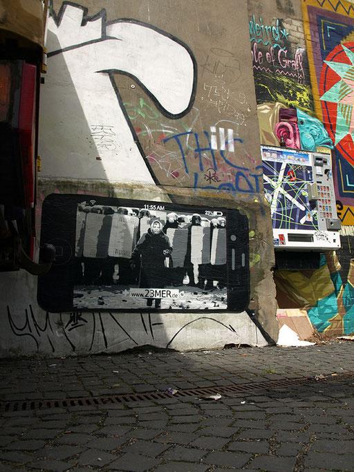 Hamburg - Speckstraße (Gängeviertel Hinterausgang)