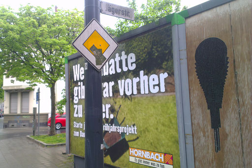 Krefeld - Frankenring Ecke Jägerstraße