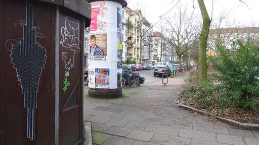 Hamburg - Schinkelstraße Ecke Preystraße