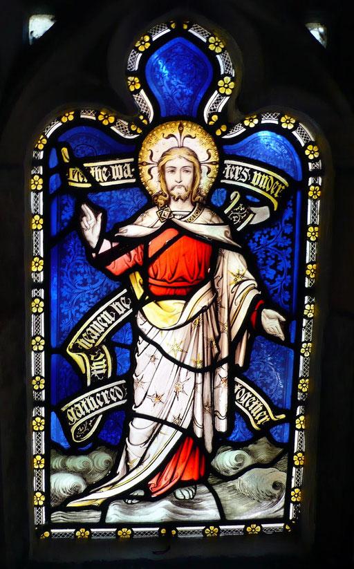 Dieu sépare la terre et les eaux, Cathédrale de Gloucester, Grande-Bretagne