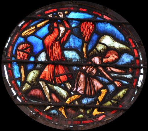 Caïn tue Abel, Sainte-Chapelle, Paris