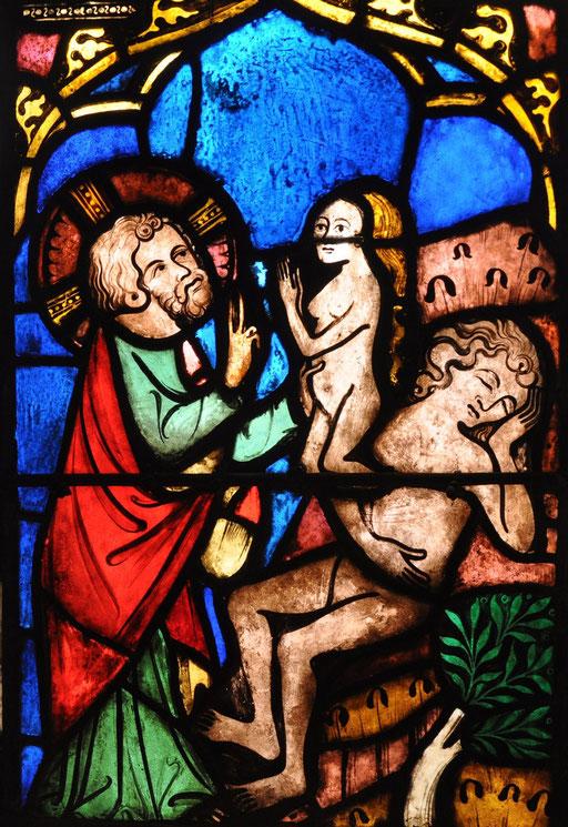 Création de la femme, Temple St-Etienne, Mulhouse