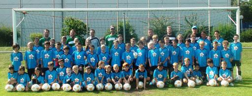 53 Kinder besuchten dieses Jahr das Laudenbacher Fußballcamp - alle Teilnehmer waren sehr zufrieden