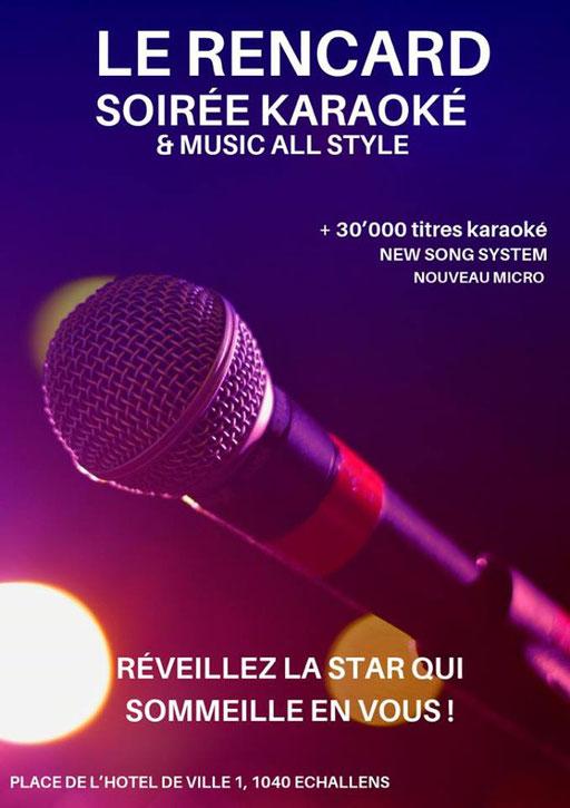 Viens chanter au Rencard à Echallens