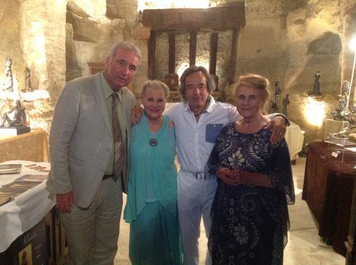 Renata aux côtés de son mari Marc J. Pantalacci, Pierre-Jean Blazy et Anne-Marie Cevaër...