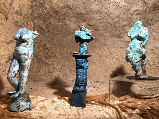 La série des rakus bleus