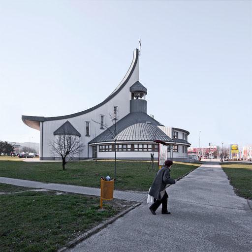Church in Bratislava Dubravka