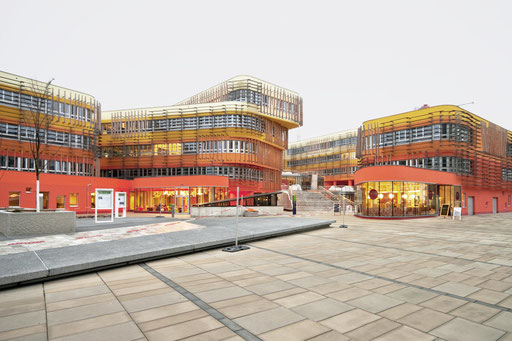Wu Campus Vienna,architect Peter Cook