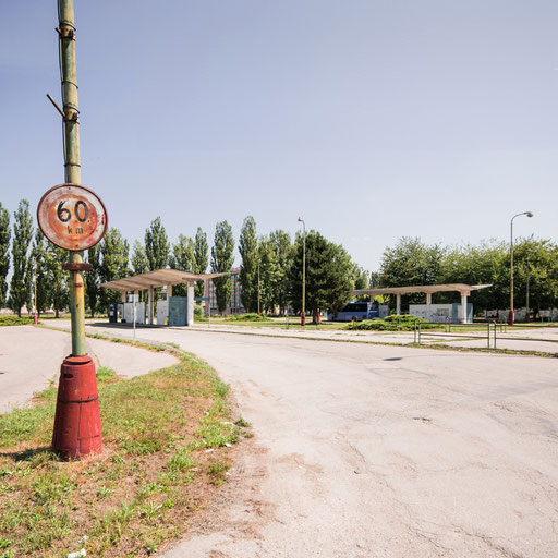Bus  station in Dubnica