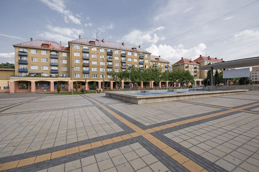 Estate housing in Nova Dubnica