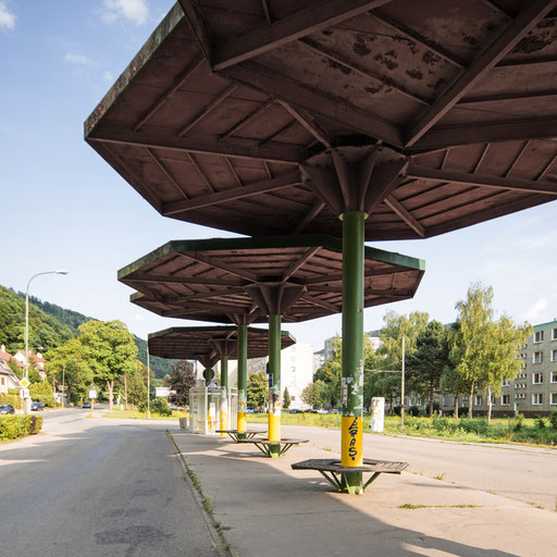 Bus Station in Terncianske Teplice