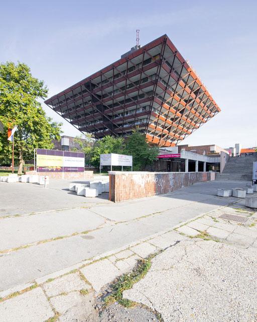 Radio building in Bratislava