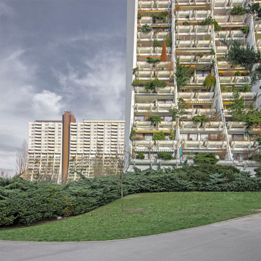 Wohnpark Alt Erlaa,Architekt Harry Glück