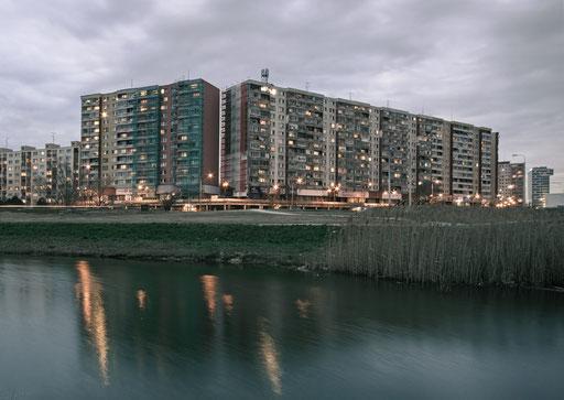 Evening in Petrzalka,Bratislava