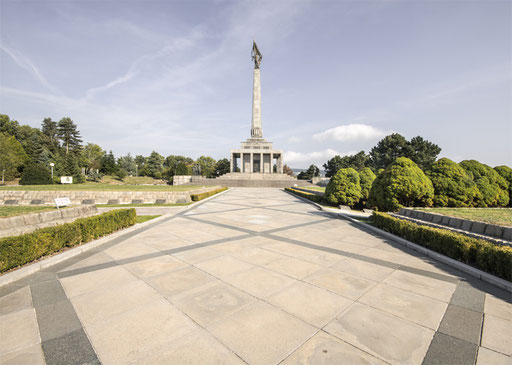 Slavin-war memorial monument and cemetery in Bratislava