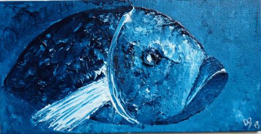 Acryl Fisch 18 x 10 cm