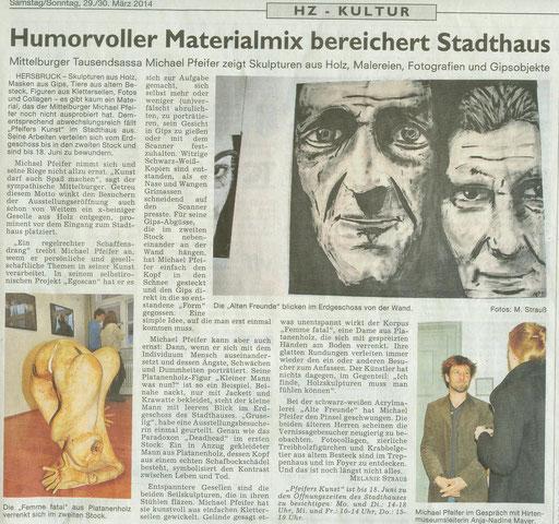 Hersbrucker Zeitung 29.3.14