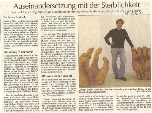 Amberger Zeitung 8.11.13