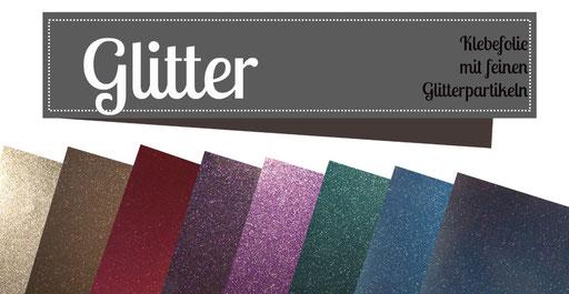 Metallic Klebefolie Vinyl Plotter Prinzessin Plotterprinzessin Glitter Vinyl