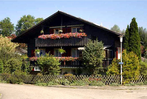 Ferienwohnung Emmental - in der oberen Etage - im Chalet Baumgartner, Schweiz