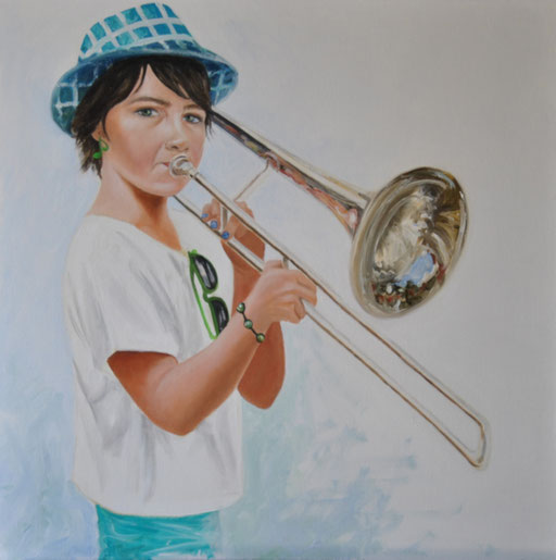 peinture-art-jazz-fanfare-blauzac-big-band-fillette-musicienne
