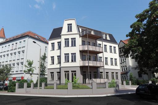 Matthiassonstraße, Leipzig-Gohlis, Sanierung, Ecobau