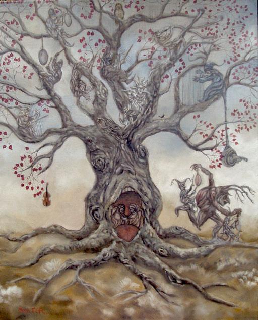 l'arbre musicien-huile-100x80