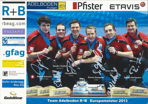 Team Adelboden Curling
