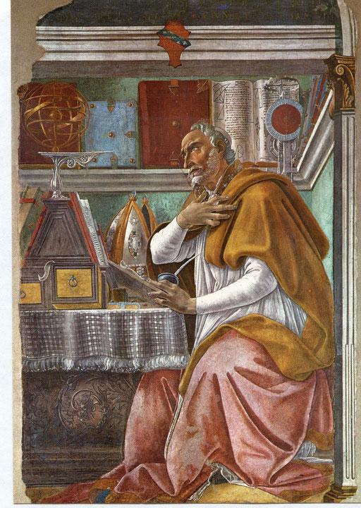 Botticelli: Augustinus