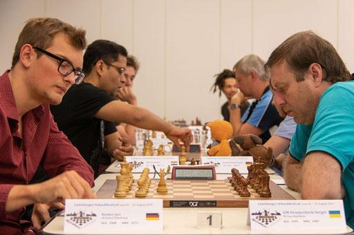 Lüneburger Schachfestival 2019, Jari Reuker - Sergei Ovsejevitsch