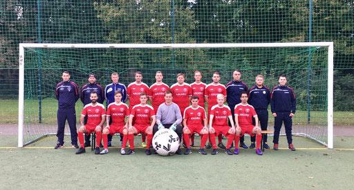 Trikotsponsor für SV Bau Union (1. Herren, Kreisliga B / 2018)