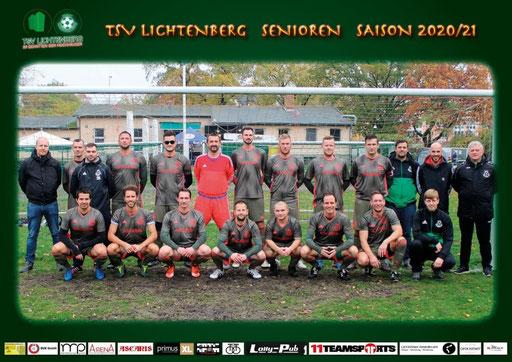 Trikotsponsor TSV Lichtenberg Senioren Saison 2020/2021