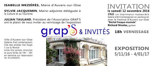 Grap's et invités - Exposition collective à Auvers-sur Oise