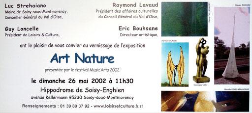 "2002 - "" Art nature "" Hippodrome d'Enghien - Soisy-sous-Montmorency - Roman Gorski"