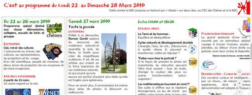 "2010 - Festival ""Etale ta science"" - MJC d'Ermont - Roman Gorski"
