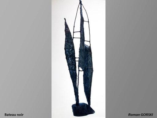 Bateau noir - Roman Gorski