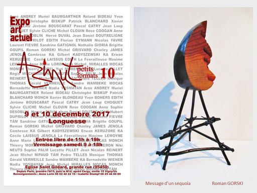 """Les """"Petits formats de Longuesse""""  Expo d'art actuel les 9 et 10 décembre"""