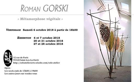 Solo atelier, Saint-Leu-la-forêt - Roman Gorski