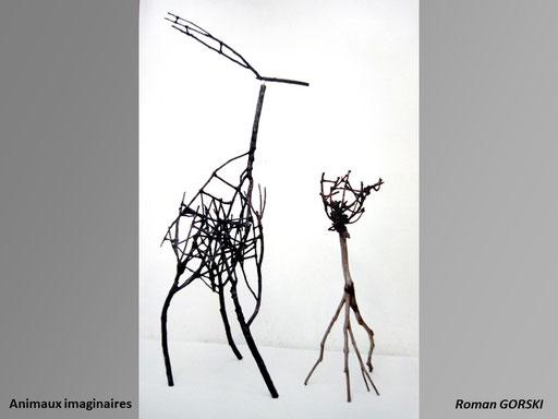Animaux imaginaires - Roman Gorski