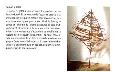 "2003 - salon d'art actuel "" Manganèse "", Vauréal - Roman Gorski"