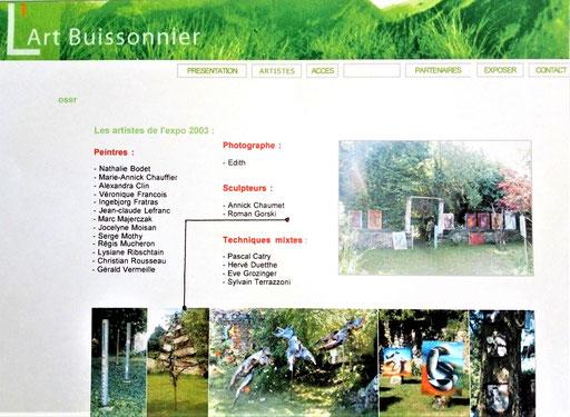 "2003 - "" L'Art buissonnier "" Montagny-en-Vexin - Roman Gorski"