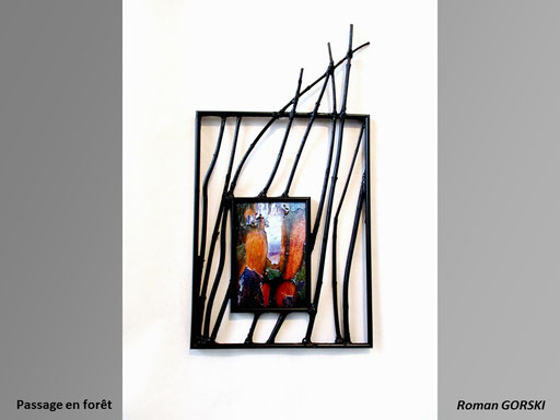 Passage en forêt - Roman GORSKI