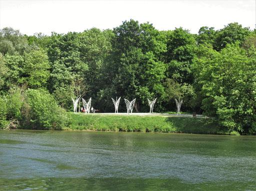 """Envolée"" - Sculptures en l'île, Andrésy - Roman GORSKI"