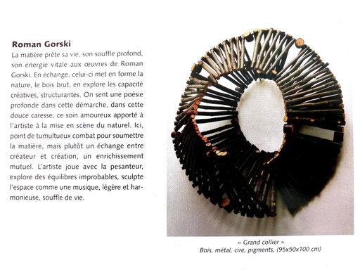 """2002 - salon d'art actuel """" Manganèse """", Vauréal"""