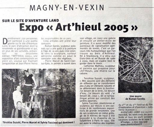 Art'hieul 2005, Magny-en-Vexin - Roman Gorski